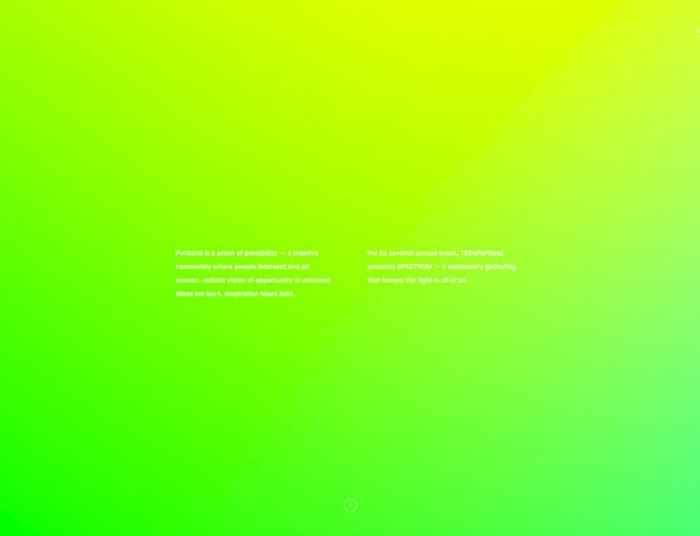 Seriously Bright & Colorful Website Designs